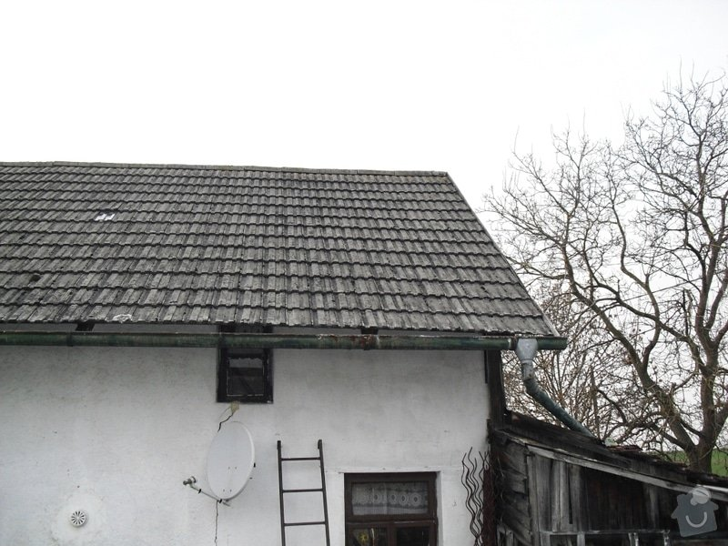 Rekonstrukce sedlové střechy: CIMG0113