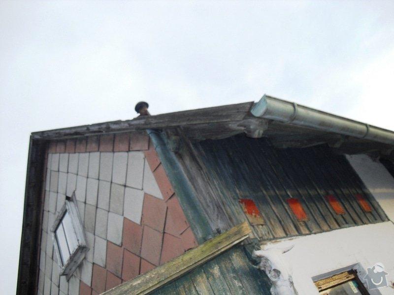 Rekonstrukce sedlové střechy: CIMG0115
