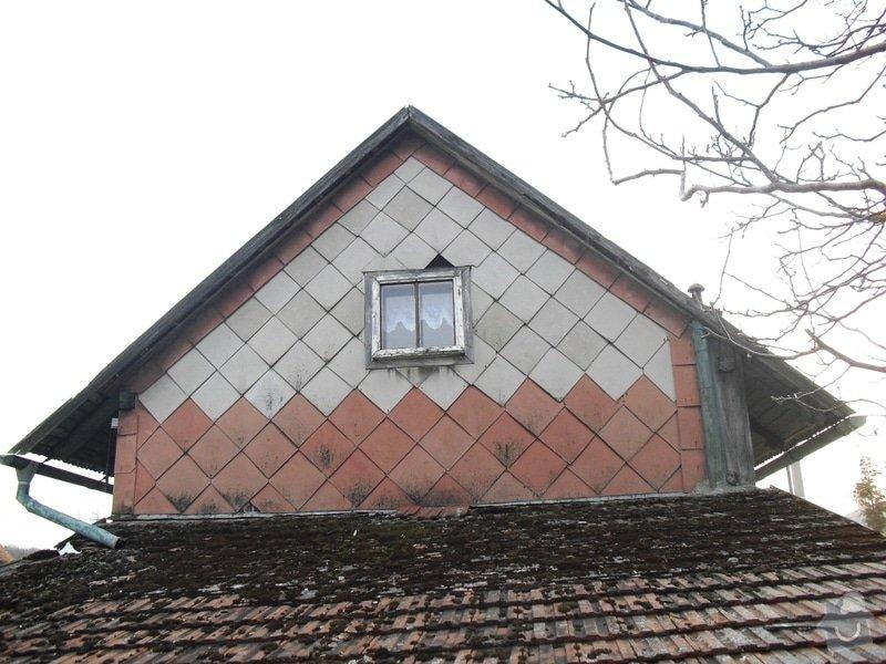 Rekonstrukce sedlové střechy: CIMG0114