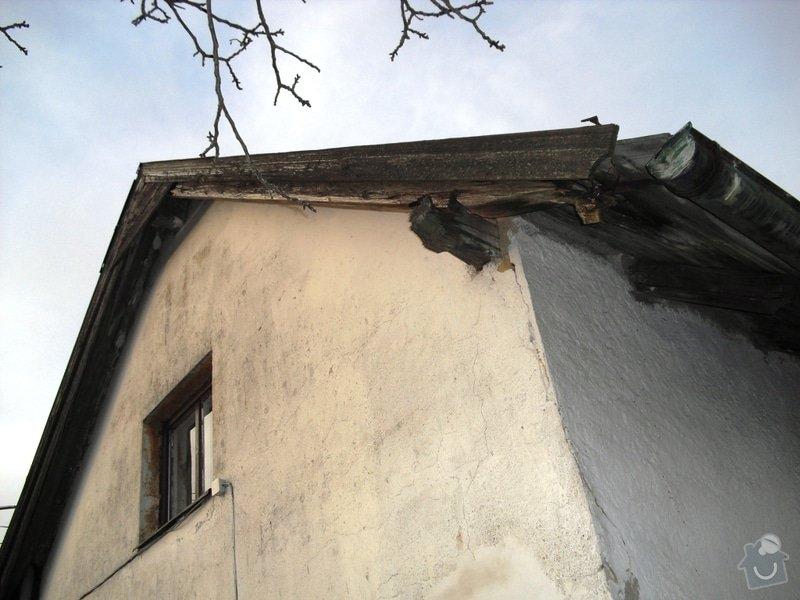Rekonstrukce sedlové střechy: CIMG0117