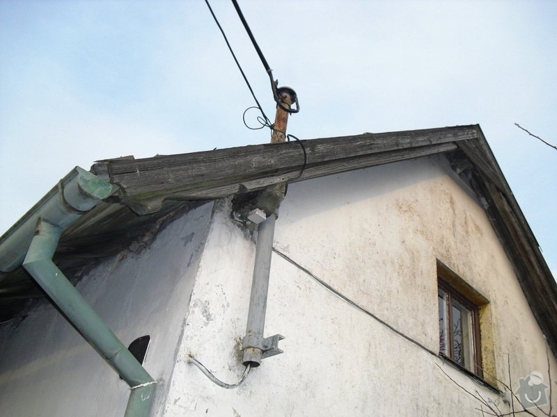 Rekonstrukce sedlové střechy: CIMG0118