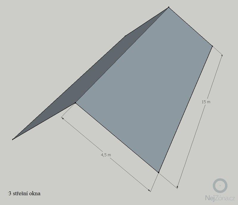 Rekonstrukce sedlové střechy: strecha
