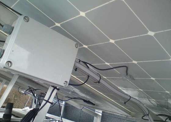 Připojení FVE, instalace monitorovacího systému Solarmonitor