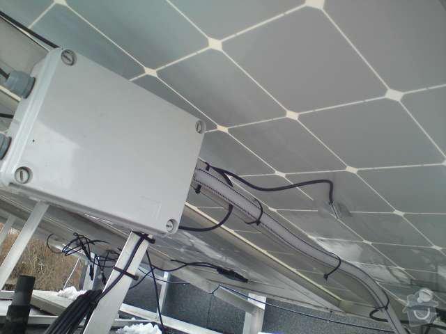Připojení FVE, instalace monitorovacího systému Solarmonitor: DSC00263
