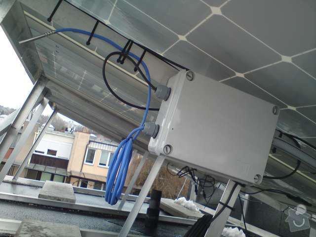 Připojení FVE, instalace monitorovacího systému Solarmonitor: DSC00264