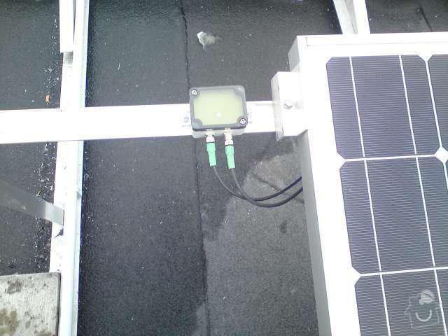 Připojení FVE, instalace monitorovacího systému Solarmonitor: DSC00265