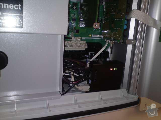 Připojení FVE, instalace monitorovacího systému Solarmonitor: DSC00267