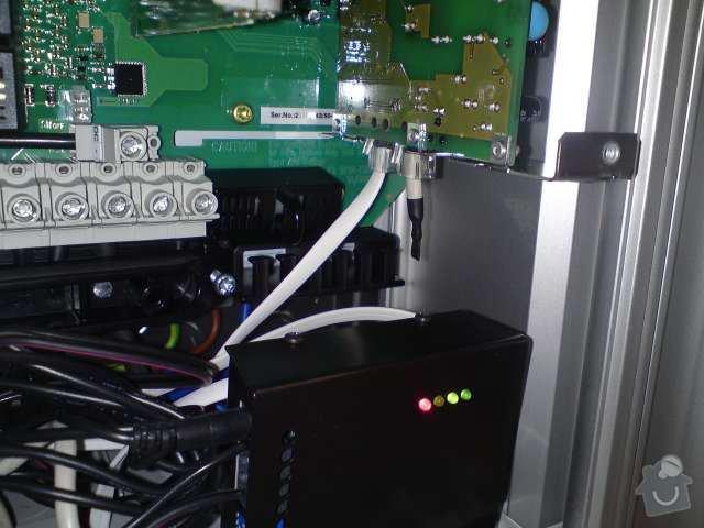 Připojení FVE, instalace monitorovacího systému Solarmonitor: DSC00268