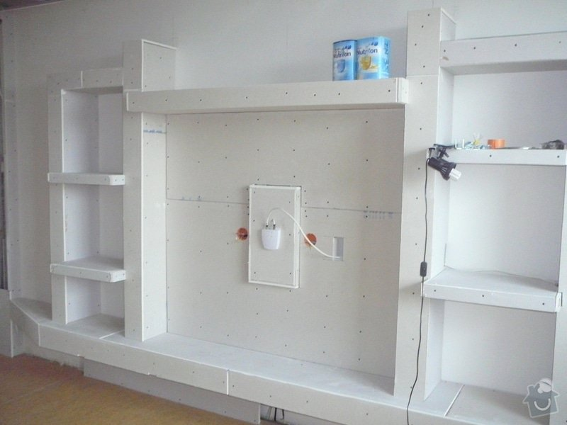 Rekonstrukce obývacího pokoje a kuchyně: P1070709