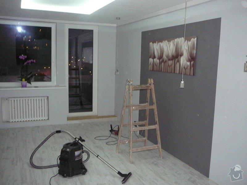 Rekonstrukce obývacího pokoje a kuchyně: P1080266