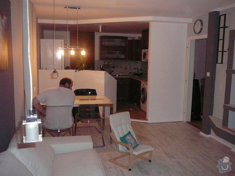 Rekonstrukce obývacího pokoje a kuchyně: P1080276