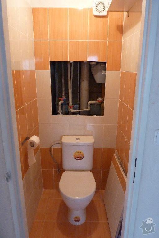 Rekonstrukce koupelny ,rekonstrukce kuchyně,pokládka dlažby , : P1000689_koupelna_prosek