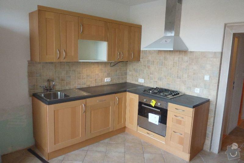 Rekonstrukce koupelny ,rekonstrukce kuchyně,pokládka dlažby , : P1000697_kuchyn_prosek