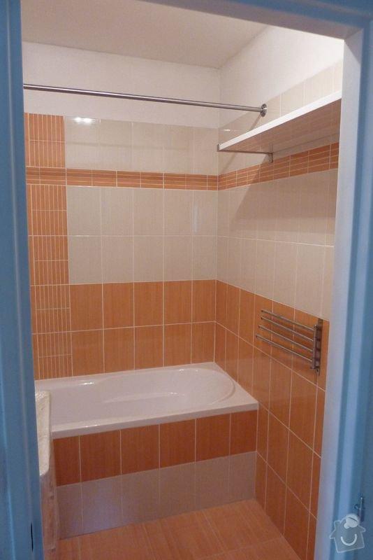 Rekonstrukce koupelny ,rekonstrukce kuchyně,pokládka dlažby , : P1000690_koupelna_prosek