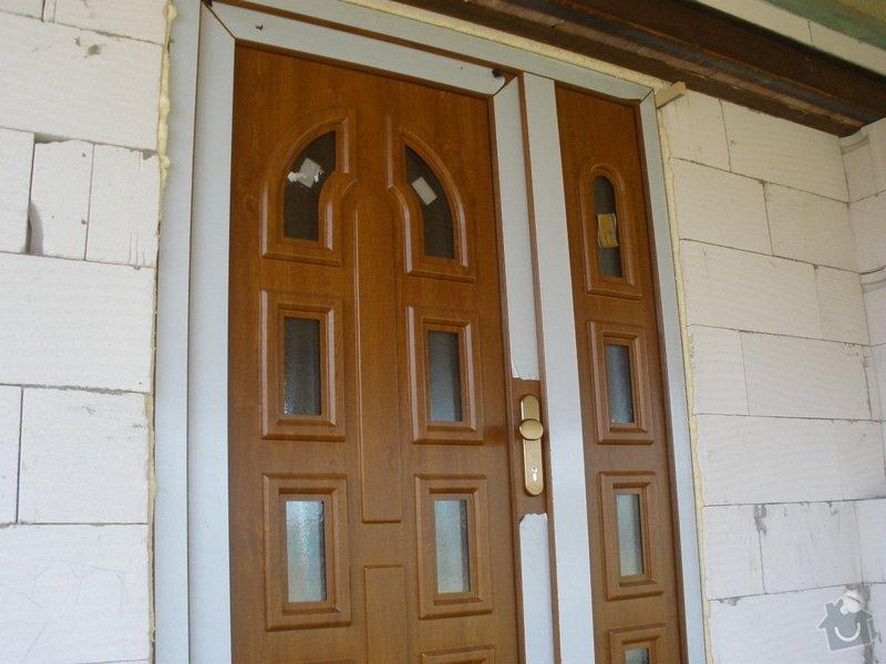 Vchodové dveře do RD: P4100449