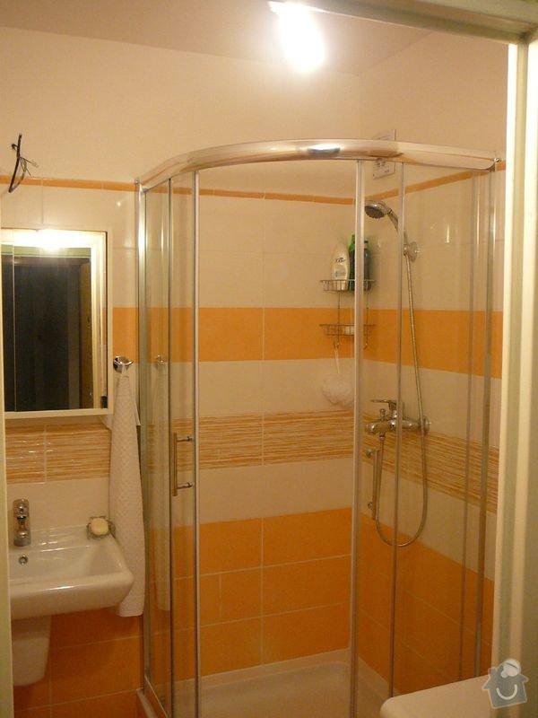 Rekonstrukce koupelny , elektroinstalace, rozvod vody a odpadů: P1050967jirka
