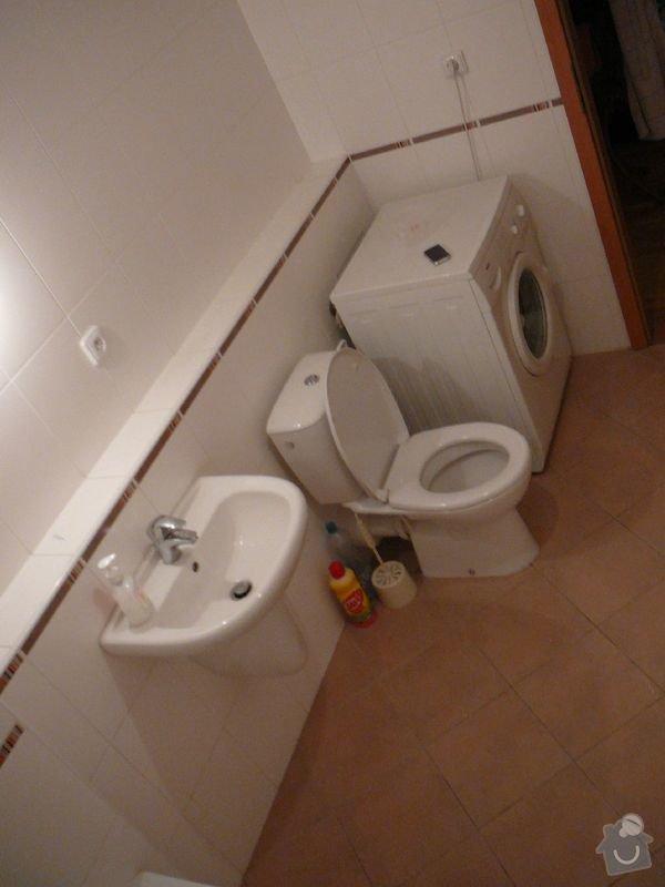 Rekonstrukce koupelny, rekonstrukce kuchyně.: P1050995cisarka