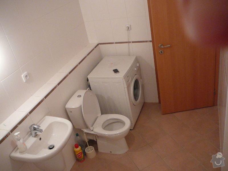 Rekonstrukce koupelny, rekonstrukce kuchyně.: P1050996cisarka