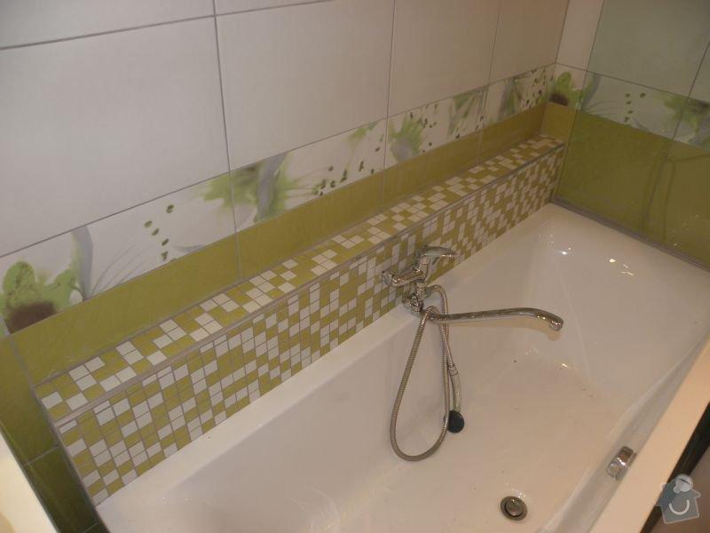 Rekonstrukce koupelny,vestavěné skříně : koup1