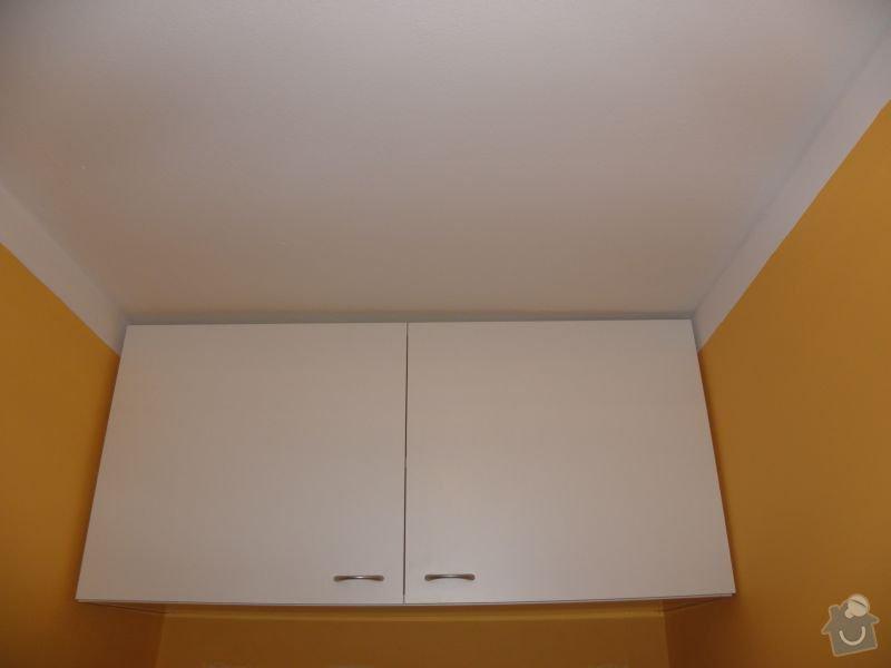 Rekonstrukce koupelny,vestavěné skříně : skrinka