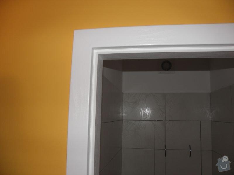 Rekonstrukce koupelny,vestavěné skříně : dvere2