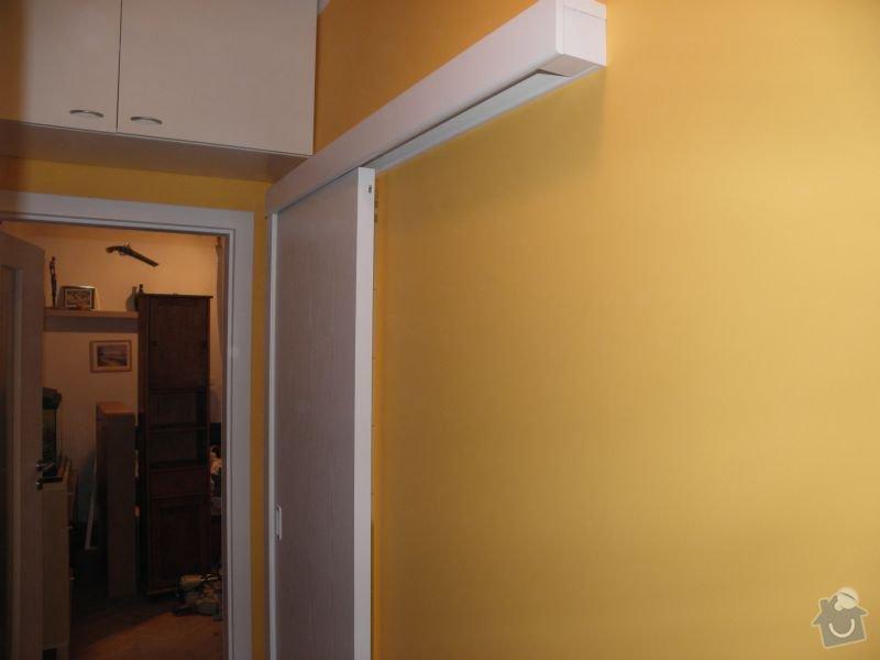 Rekonstrukce koupelny,vestavěné skříně : dvere3