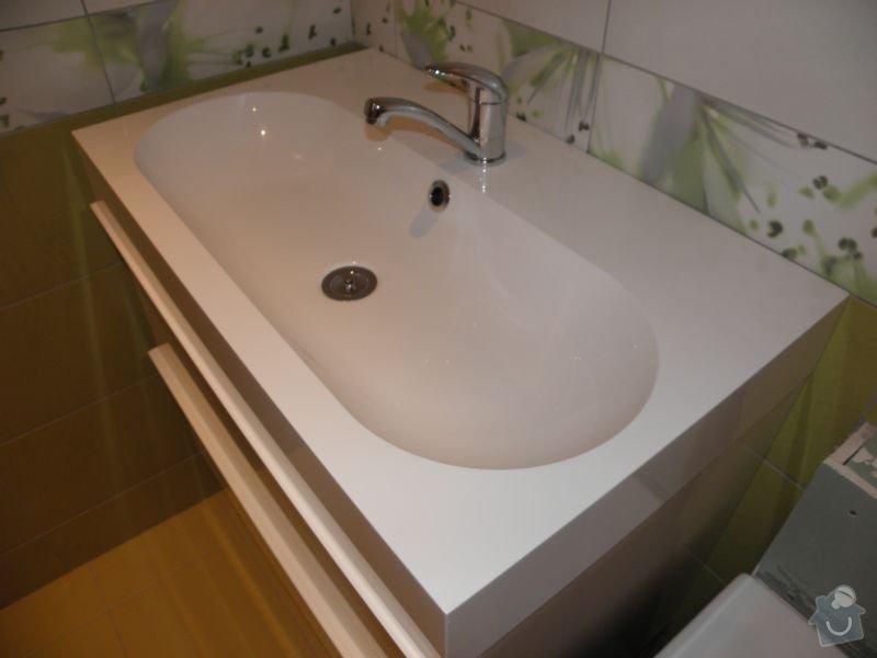 Rekonstrukce koupelny,vestavěné skříně : dves3