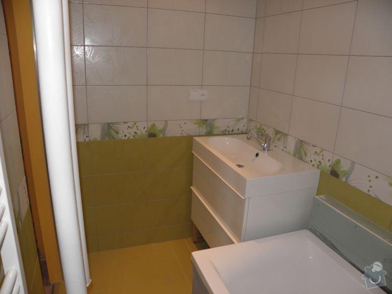 Rekonstrukce koupelny,vestavěné skříně : koupe5