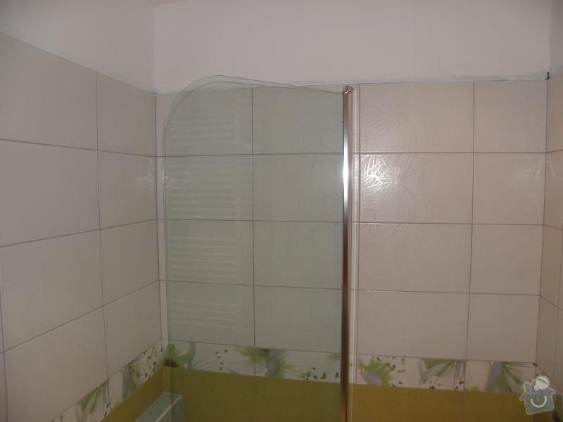 Rekonstrukce koupelny,vestavěné skříně : koupelna3