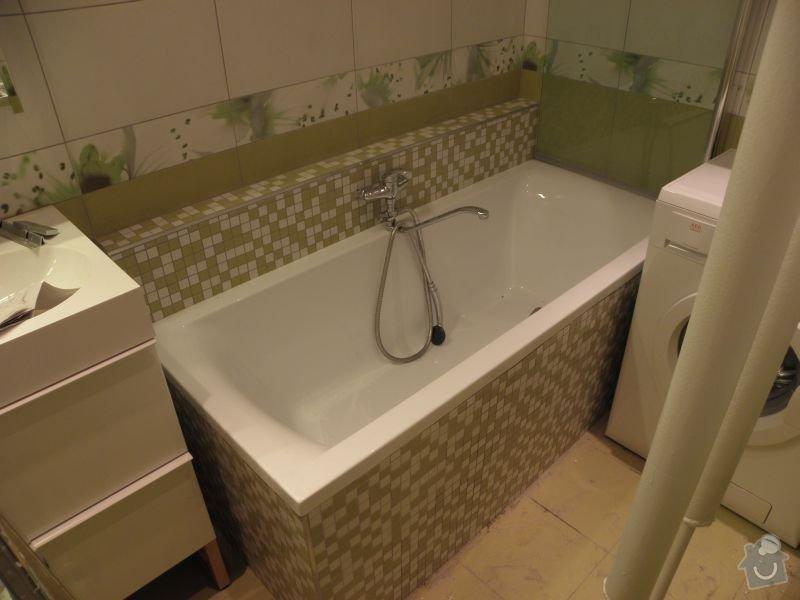 Rekonstrukce koupelny,vestavěné skříně : koupelna4