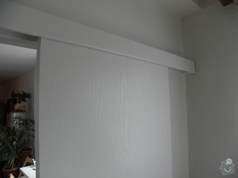Rekonstrukce koupelny,vestavěné skříně : posuv_1