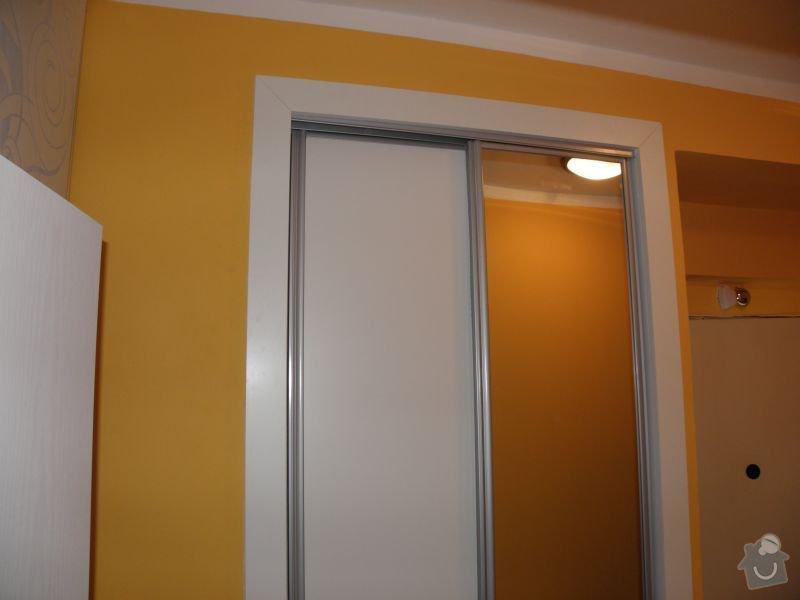 Rekonstrukce koupelny,vestavěné skříně : skrin1