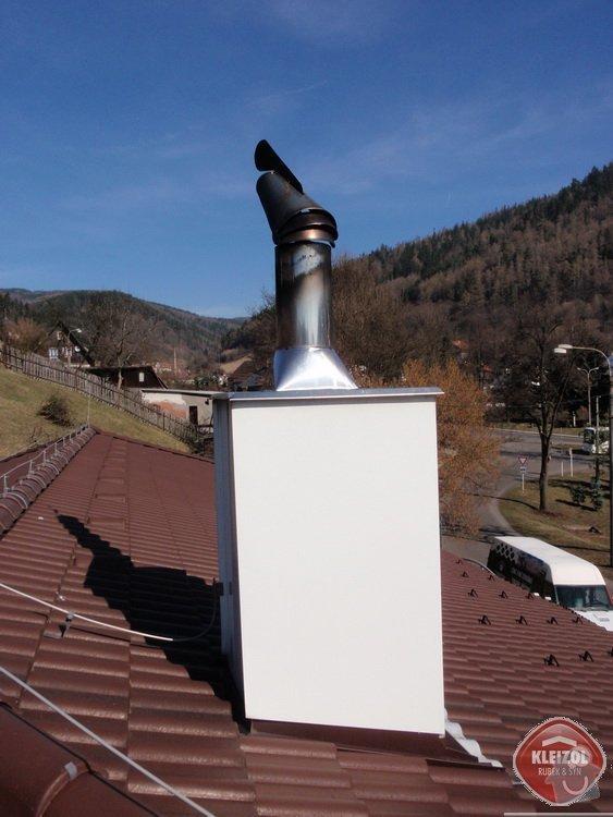 Montáž sněhových zábran na střechu: kleizol_rubek_perstejn_1_06