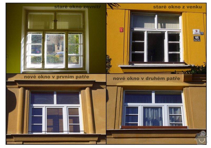 Výměna okna za plastové.: okna
