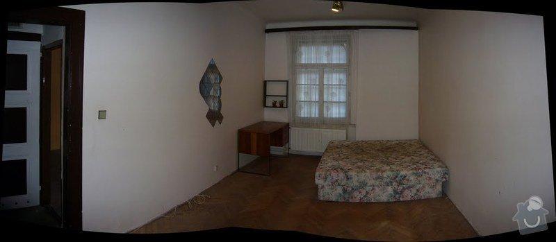 Výměna oken v bytě 3kk: loznic