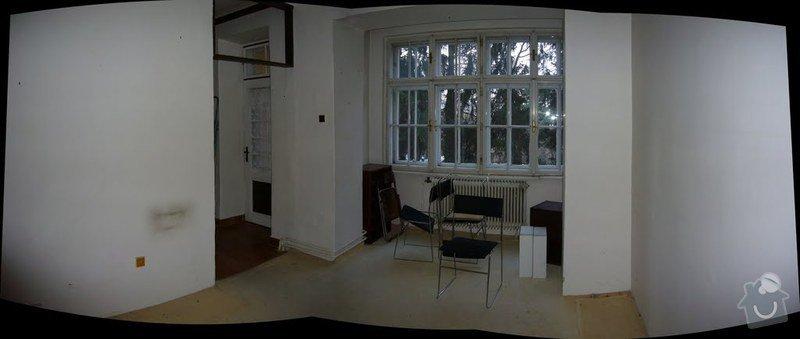 Výměna oken v bytě 3kk: obyvak