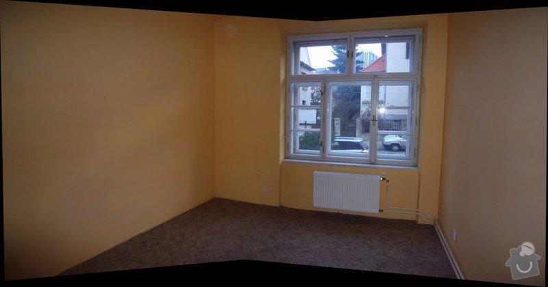 Výměna oken v bytě 3kk: pokoj