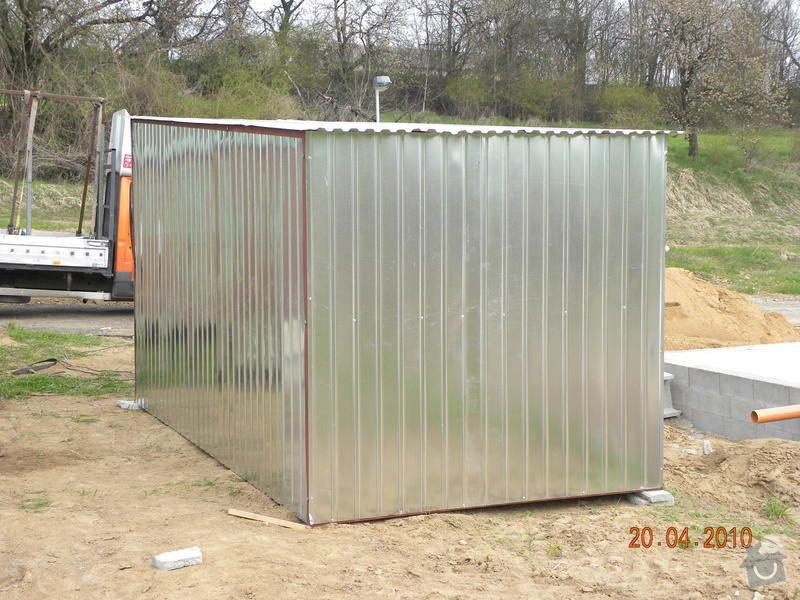 Plechová garáž: DSCN0357