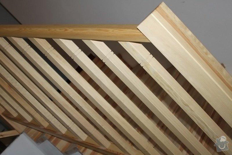 Dřevěné zábradlí na míru: remeslnici01