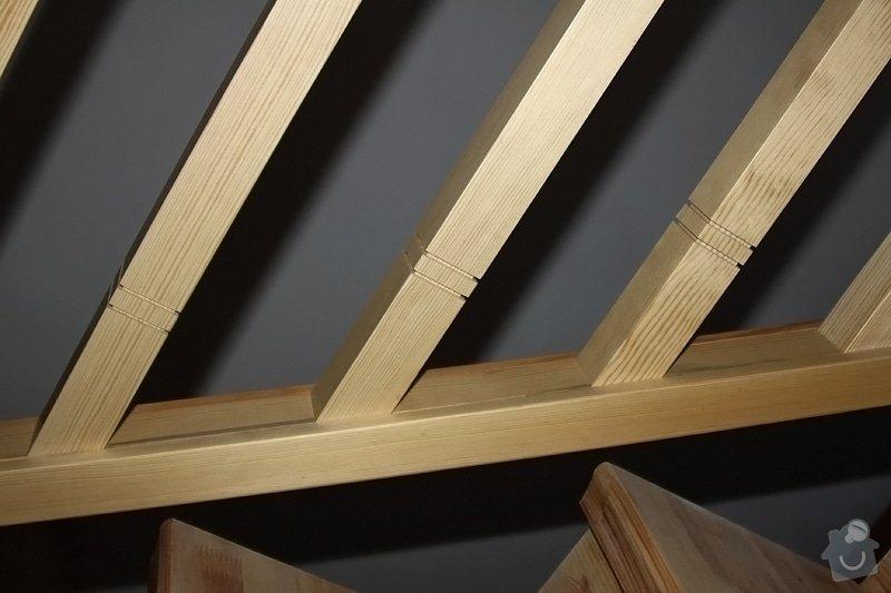 Dřevěné zábradlí na míru: remeslnici05