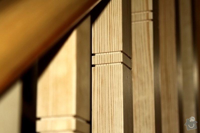 Dřevěné zábradlí na míru: remeslnici06