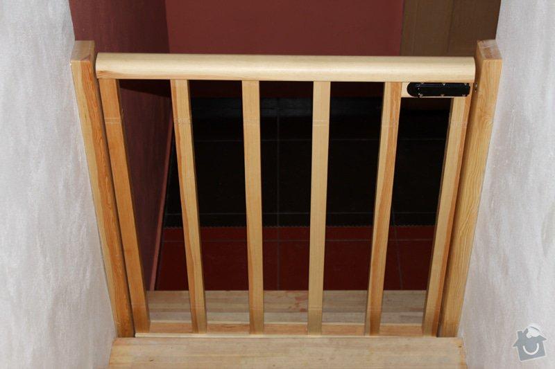 Dřevěné zábradlí na míru: remeslnici07