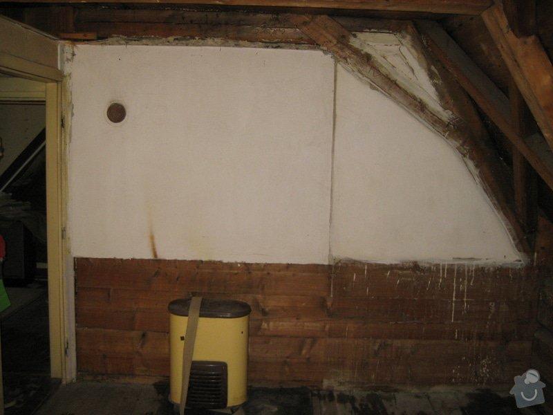Rekonstrukce podkrovni mistnosti v drevostavbe: 1_celni_stena
