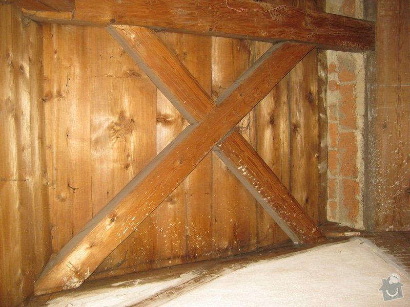 Rekonstrukce podkrovni mistnosti v drevostavbe: 2_bocni_detail02