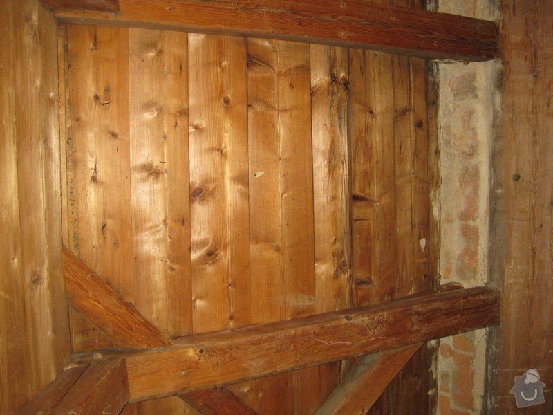 Rekonstrukce podkrovni mistnosti v drevostavbe: 2_bocni_detail03