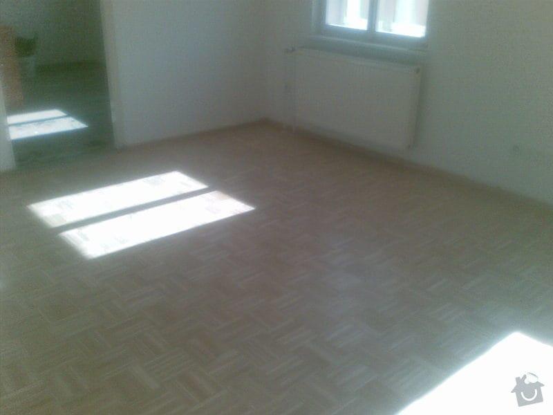 Přebroušení dřevěné podlahy a nalakování: 03042011_004_