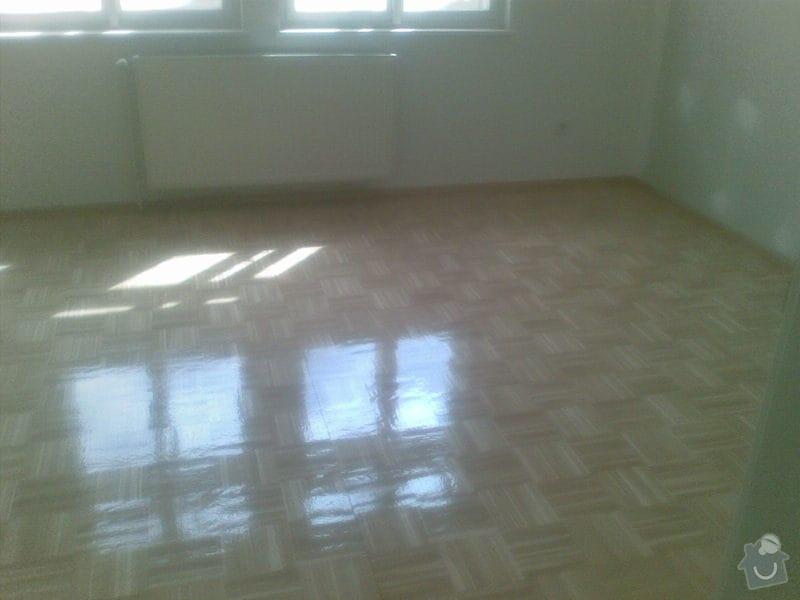 Přebroušení dřevěné podlahy a nalakování: 06042011_002_