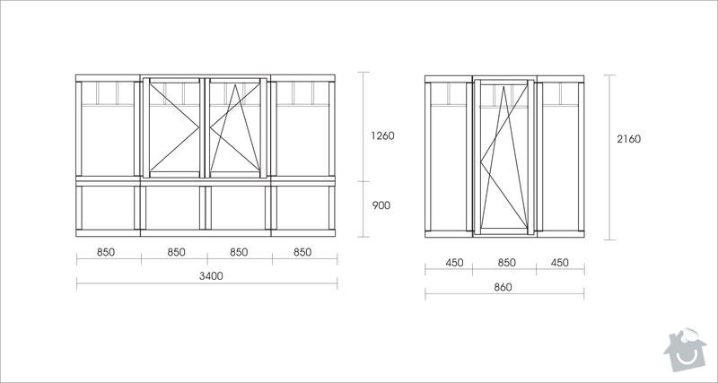 Výroba oken a dveří - dřevěné: okna