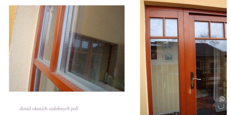 Výroba oken a dveří - dřevěné: oknaF