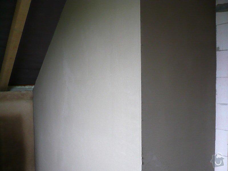 Vnitřní jádrové a štukové omítky, izolace podlahy.: P1030103